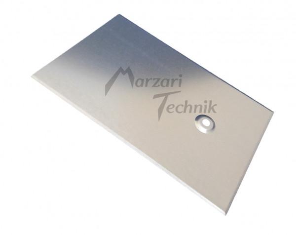 Metalldachplatte Typ Schiefer 250x 380mm für Stockschraube